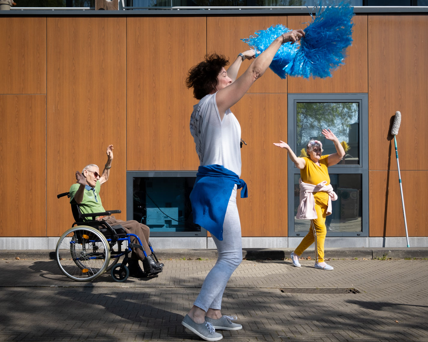 Dansen aan Dinestencentrum De Wilg in Willebroek
